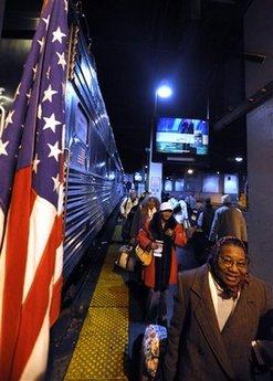 Obama Inauguration Train