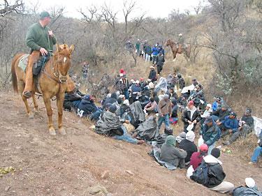 horseback  illegal immigrants
