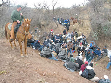 horseback  illegal immigrants